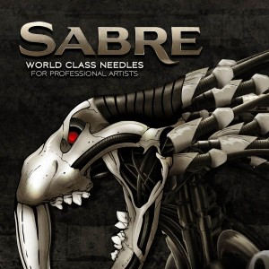 Sabre Brand - Laurent Lemoigne - Donanubis - Don Anubis - Graphic Design - Logo Design - Branding - Packaging - World Class Needles - Tattoo - Artist - UK - Geneva - Switzerland - Art - Industrial - Dark - Rust - Decay - Skull - Factory - Mechanical - Machinery - Biomechanic - Biomechanik - Giger