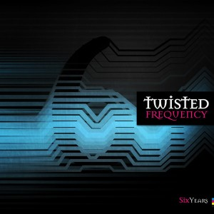 Twisted Frequency - Six Years - CD Cover - Laurent Lemoigne - Donanubis - Don Anubis - Graphic Design - Record Label - Techno - Minimal - House - UK
