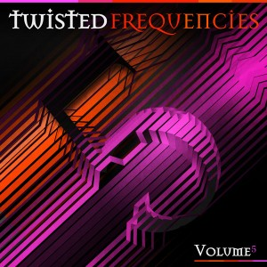 Twisted Frequencies Vol.5 CD Cover - Laurent Lemoigne - Donanubis - Don Anubis - Graphic Design - Twisted Frequency - Record Label - Techno - Minimal - House - UK