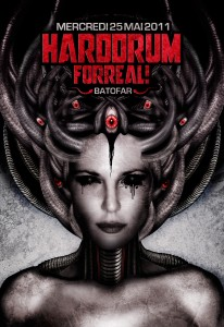 Hard Drum For Real II - Laurent Lemoigne - Donanubis - Don Anubis - Graphic Design - Flyer - Matozoides - Batofar - Paris - Art - Music - Electronic - Party - Event - Flyer - Poster - Industrial - Dark - Woman - Beautiful - Blind - Black Eyes - Pan's Labyrinth - Skin - Biomechanic - Biomechanik - Giger - Alternative - Underground - Geneva - Switzerland - Drum and Bass - d'n'b - Dubstep - Darkstep - Hard Drum - Techno - AirJ / Freak / Oik / Evil Beast - Sinecore / Evil Beast / Tilt / Cyber Crunk - T-Psy / T3K / Oik - Meloo / NSM / Matozoides - Fred Mato / Matozoides / DTC Records / 4real