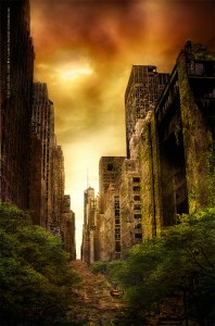 That Day Will Come - Laurent Lemoigne - Donanubis - Don Anubis - Graphic Art - Digital Art- - Print on Canvas - Geneva - Switzerland - Surreal - Conceptual - Dark - Fantasy - Death - Life - Zombie - Undead - Horror - Movie - Decay - Walking Dead - Industrial - Dark - Post - Apocalyptic - Apocalypse - Nuke - Babylon - City - Destruction - Angkor - Nature - Building - End of Civilization - Disaster - Science Fiction - Post-apocalyptic - Destroy - I am a Legend - Doomsday - Metal - Hard - Rock - Death - Band - CD Cover