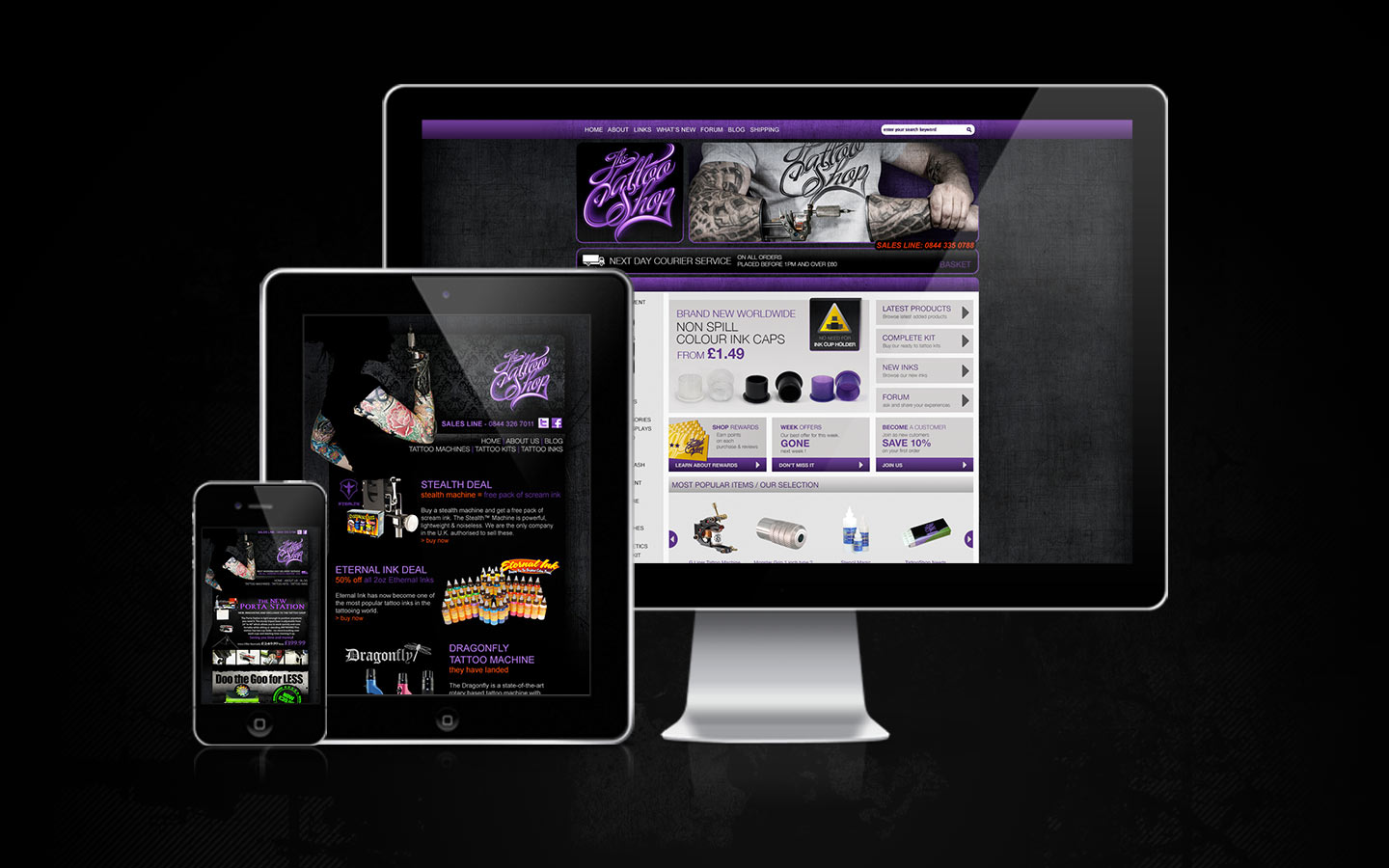 The tattoo shop digital art flyers ads catalogue for Tattoo nightmares shop website