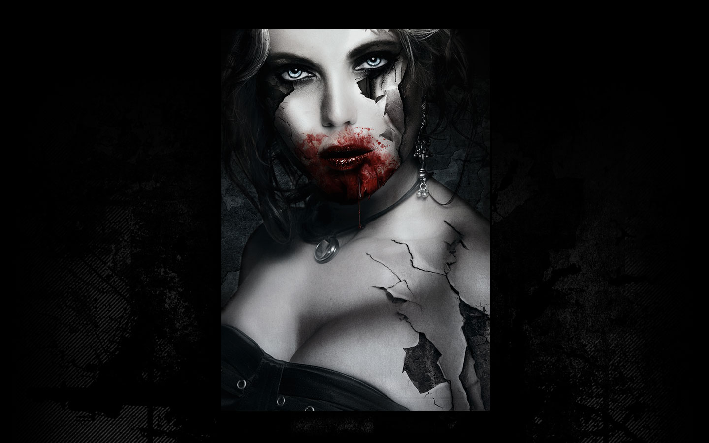 Und3ad - Laurent Lemoigne - Donanubis - Don Anubis - Graphic Art - Digital Art - Canvas - Print - Geneva - Switzerland - Surreal - Conceptual -People - Dark - Fantasy - Beauty - Woman - Fetish - Goth - Gothic - Steel - Death - Life - Zombie - Undead - Horror - Movie - Decay - Skin - Vampire - Walking Dead - Metal - Hard - Rock - Death - Band - CD Cover - Hard - Rock - Illustration