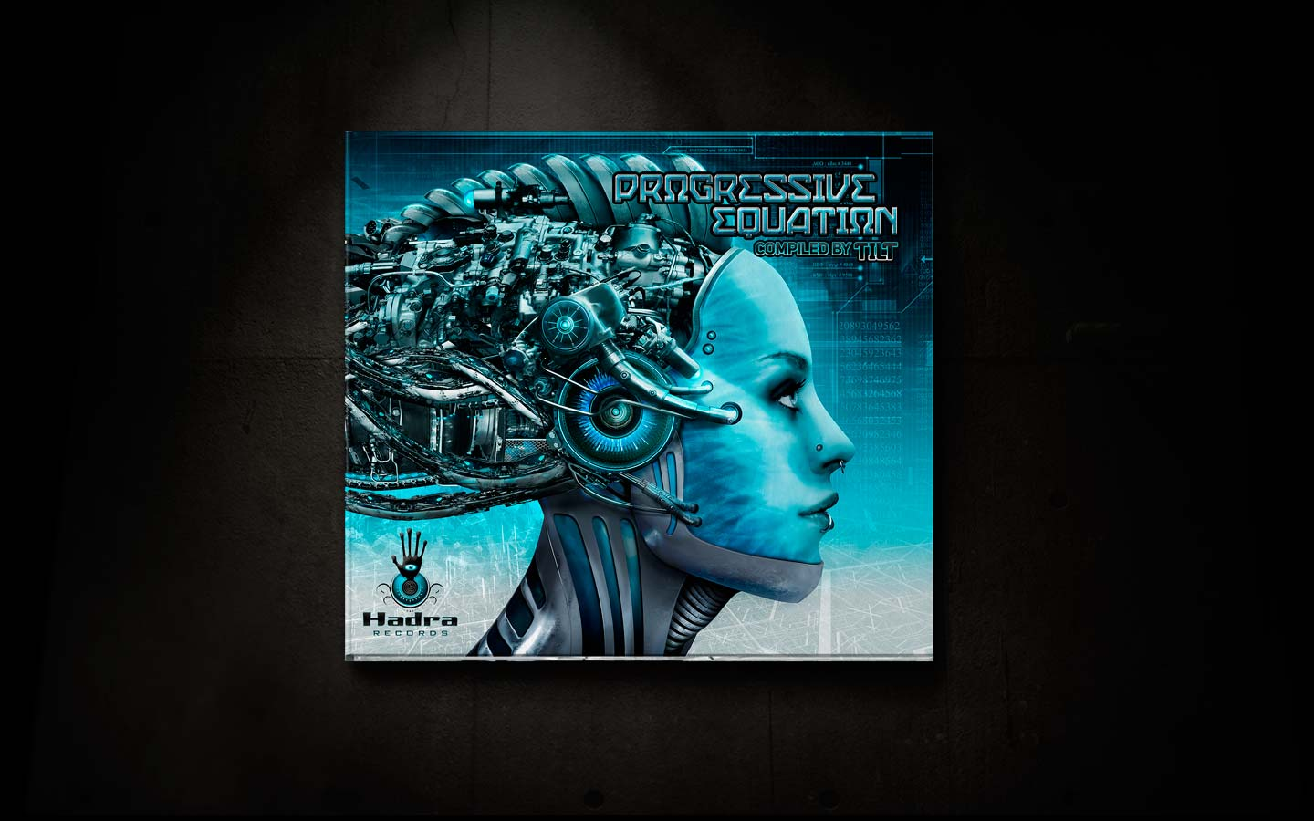 Tilt - Progressive Equation - Laurent Lemoigne - Donanubis - Don Anubis - Graphic Design - Logo Design - Cd Cover — Digipack -  Hadra - Psy Trance - Goa - Prog - Art - Music - Industrial - Dark - Mechanic - Factory - Rust -  Biomechanic - Biomechanik - Biomechanoid - Giger  - Cyborg - Robot - Robotic - Sci fi - Beautiful - Woman - Alternative - Underground - Geneva - Switzerland